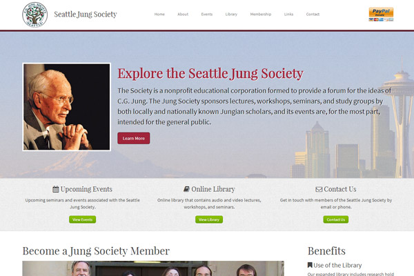 Seattle Jung Society website
